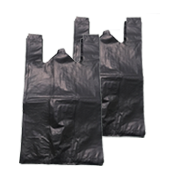 HDPE Plastic Bag Black Color